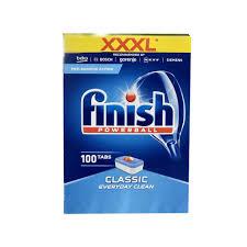 Viên rửa bát Finish Classic100 taps