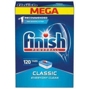 Viên rửa bát Finish Classic 120v