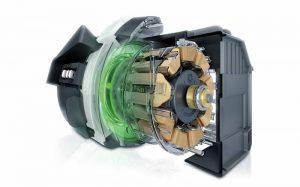 Động cơ EcoSilence Drive không chổi than hoạt động bền bỉ tiết kiệm năng lượng
