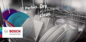 PerfectDry Công nghệ sấy Zeolith sấy khô nhanh chóng- tiết kiệm- khử khuẩn lên tới 99%.