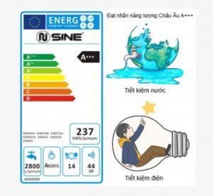 Nhãn hiệu năng lượng cao nhất được cấp từ Châu Âu A+++